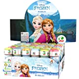 Dulcop- Disney 60Ml Frozen 591000 Bolle di Sapone, Multicolore, 60 mL, 8007315159104