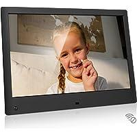 NIX Advance 13 Inch USB Digital Photo Frame - Full HD IPS Display, Auto-rotate, Motion Sensor, Remote Control - Mix…