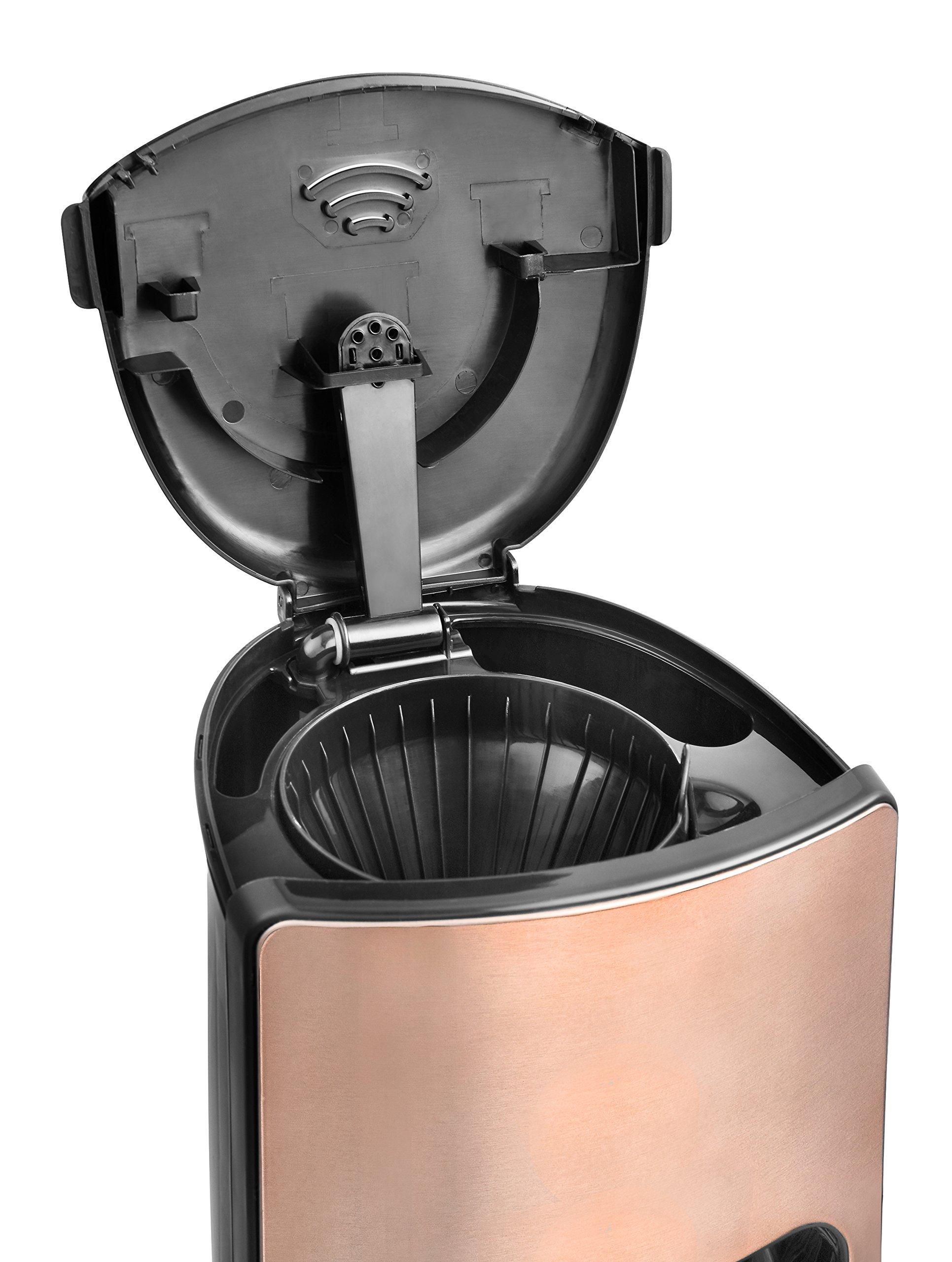 Team-Kalorik-Filter-Kaffeemaschine-mit-18-l-Fassungsvermgen-Glaskanne-Fr-bis-zu-15-Tassen-1000-W-Kupfer-TKG-CM-1220-K