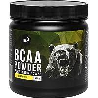 BCAA 400g Citron – 30 portions d'acides aminés en poudre pour un rapport de 2:1:1-9,8 g de BCAA par portion – complément…