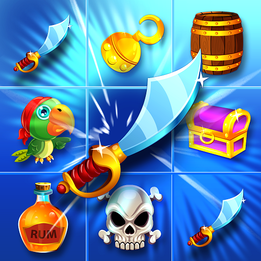 Pirate Treasure Match 3 Adventure - 355 exciting match-3 puzzle levels