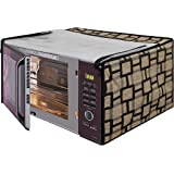 Star Weaves Microwave Oven Cover for IFB 25 L Convection Model (25SC4, Metallic Silver) - KUM12