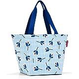 reisenthel shopper M 51 x 30,5 x 26 cm / 15 l / leaves blue