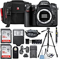 Nikon D7100 24.1MP Digital DSLR Camera & Along with a Total of 48 GB SDHC and Deluxe Accessory Bundle and Cleaning Tools