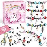 Lenski 3 Pièces Bracelet Fille - Unicorno Idee per Regali Originali Idee Regalo Ragazza per Ragazza Idee Regalo Natale Perlin