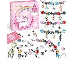 Lenski Cadeau Fille 10 9 8 7 6 5 4 Ans, Jouet Fille, Breloques Creation Bijoux, Bracelet Fille, Creation Bijoux, Bracelet, Id