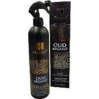 Oud Afgano Désodorisant d'ambiance oriental anti-odeur en spray 500 ml – Idéal pour voiture/maison/rideaux/meubles…