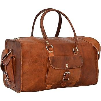 39a929d894fd Gusti Cuir nature - Sac de voyage en cuir Henry Bagage cabine, sac de sport