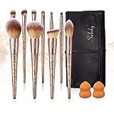 Subsky brochas de maquillaje con esponjas de maquillaje professional pincel de maquillaje sintético avanzado pincel de base p