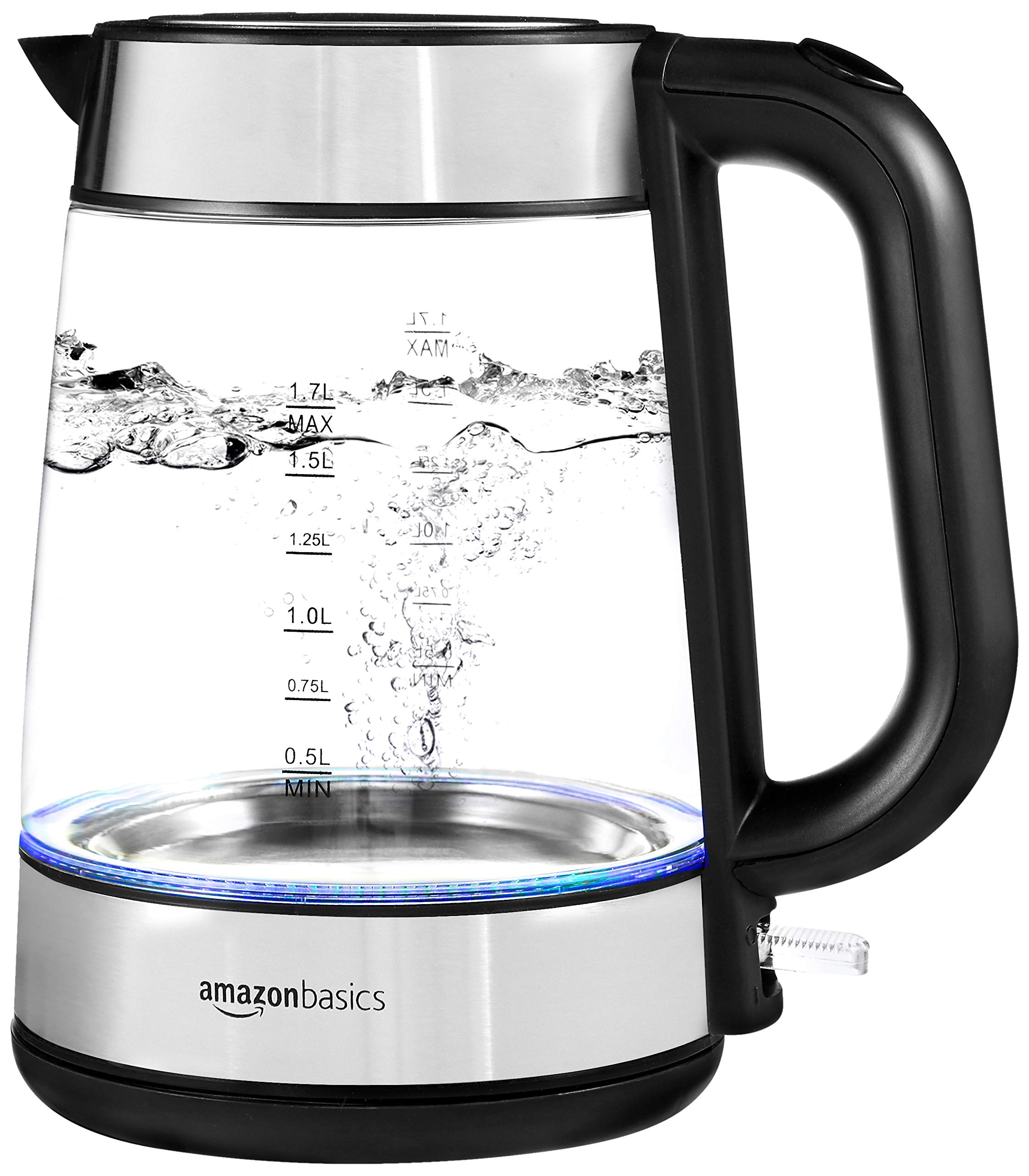 AmazonBasics-Elektrischer-Wasserkocher-aus-Glas-17-l-2200-W