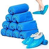 Copriscarpe Monouso,Copri Scarpe da Casa Usa e Getta,100 Pezzi Copriscarpe Tessuto Non Tessuto,Antiscivolo e Durevole per Lav