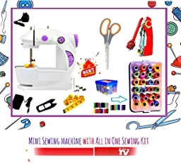 Sewing Machines for Home Mini BestSeller | Portable | Sewing kit for Stiching | Sewing Accessories | Thread Set | by ZDELHI
