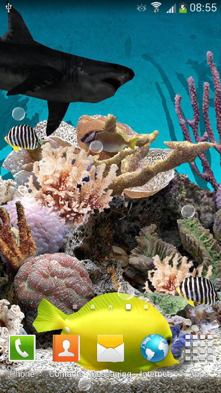 3d aquarium live wallpaper amazon co uk appstore for android