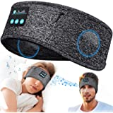 Sleep Headphones Bluetooth Headband Personalised Gifts - Wireless Soft Headphones for Sleeping Christmas Stocking Fillers Men