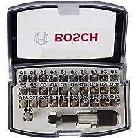 Bosch Professional Set da 32 Pezzi di bit di avvitamento, bit avvitamento duri, accessori trapano avvitatore e…