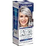 Garnier Trattamento Anti-Giallo Belle Color Perle d'Argent, Crema Trattamento per Capelli Grigi e Bianchi, Grigio Perla, Conf