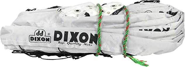Dixon Vlbnet-01 Nylon Volleyball Net, Standard (White)