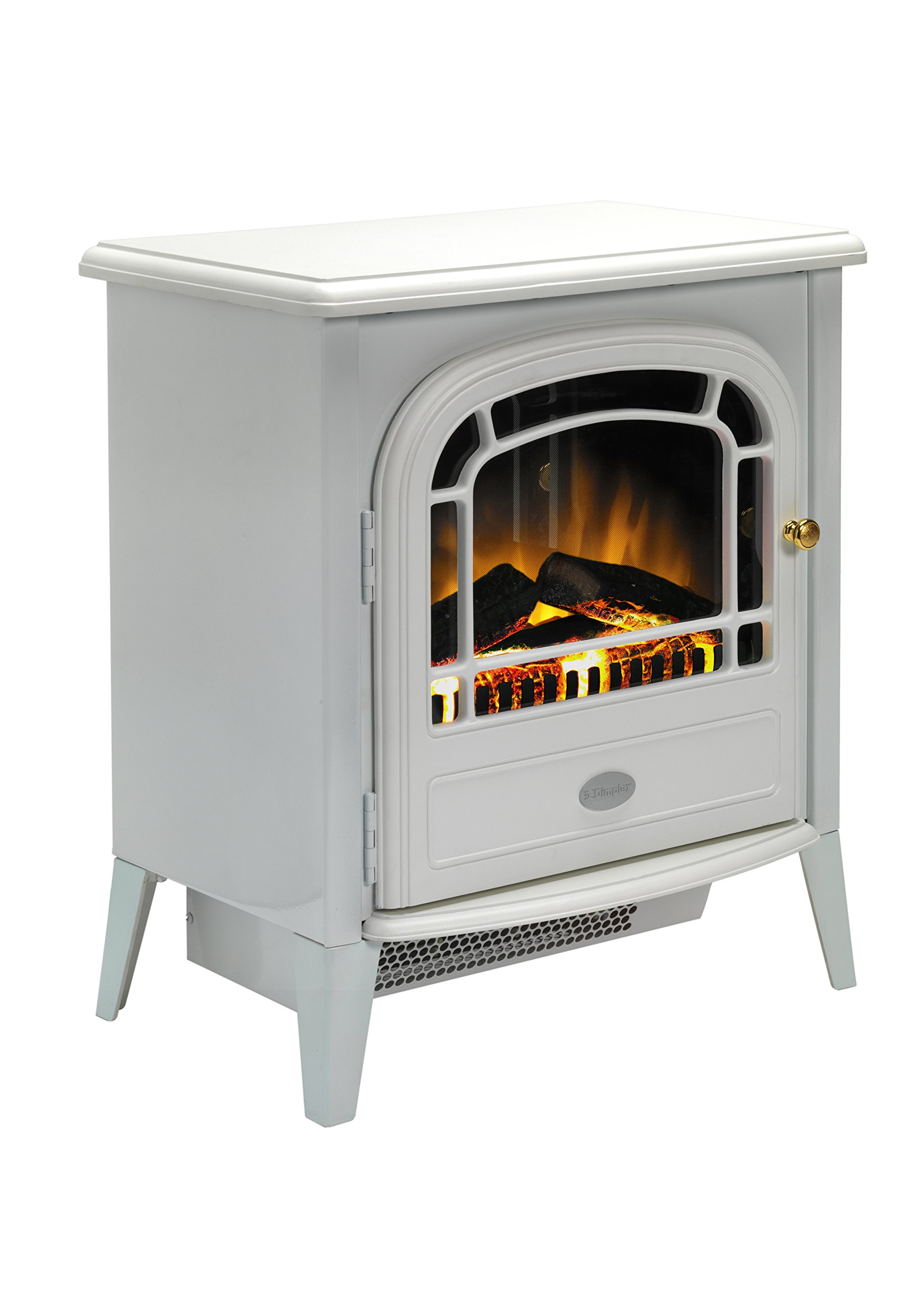 810UohWUkvL - Dimplex CVL20E Courchevel Electric Stove with Optiflame Effect, 2 kW, 230 W, White