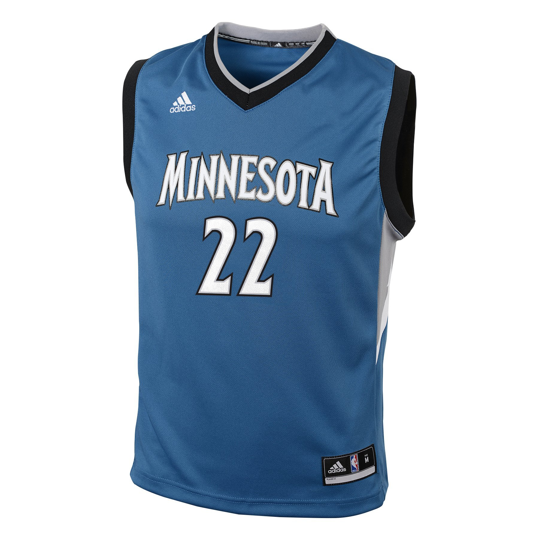 Andrew Wiggins Minnesota Timberwolves Adidas NBA Replica Youth Gioventù Jersey Maglia