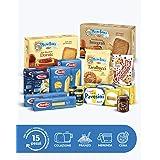 Barilla, Box I Più Amati, Confezione di 15 Prodotti Assortiti Barilla, Mulino Bianco, Pan di Stelle, Pavesi, con Pasta, Sugo,