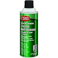 CRC 03300 Silicone Mold Release Spray (Net Fill Weight 12 oz) 16oz Aerosol can.