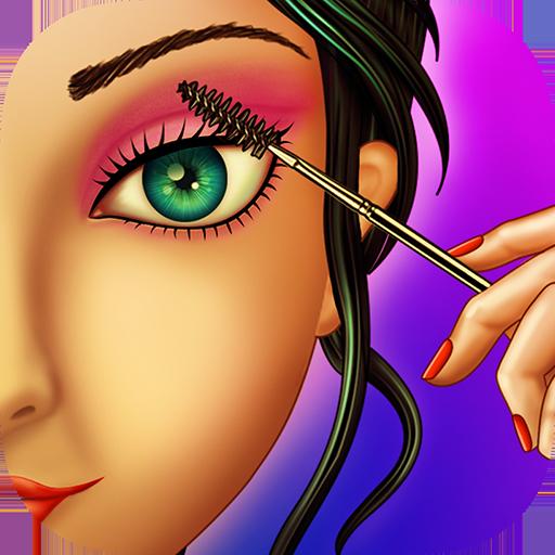 Augen Makeup Schönheitssalon für Mädchen : Make-up für Mädchen und Kinder ! -