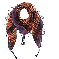Freak Scene Kefiah - tessitura semplice colorato-multicolore 08-100x100 cm - Shemagh - Sciarpa Arafat Foulard kefiah…