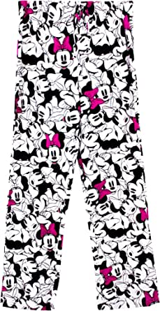 Minnie Mouse Smiling Faces Sleep Pants Small