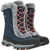 Mountain Warehouse Ohio - Stivali da Neve Donna Resistente alla Neve -Rivestimento Isotermico e Suola in Gomma per Un Maggior