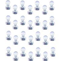 Aimants à poussoir Magnetpro, Paquet de 28 punaises magnétiques puissantes, Aimants parfaits pour tableau blanc…