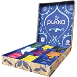 Pukka Selection Box Scatola di Tisane Biologiche Assortite, 45 Bustine