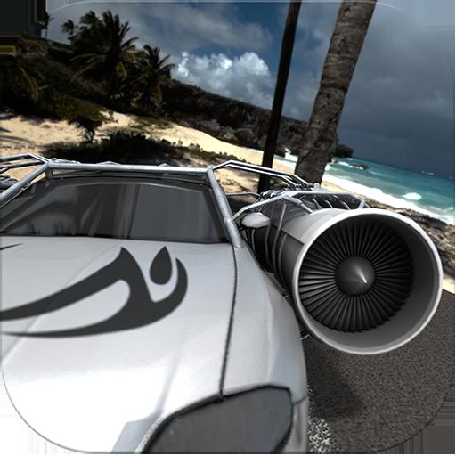 jet-car-tropical-islands