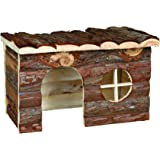Trixie 62182 Natural Living Jerrik Log House 28 × 16 × 18 cm