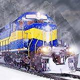 Winter Zug Fahren