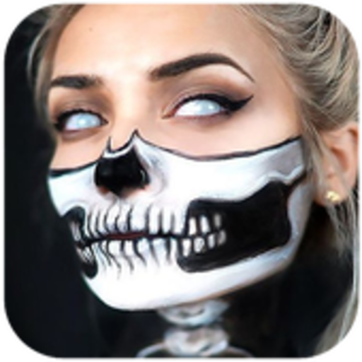 Halloween MakeUp (Tutorial Make-up Zombie Girl Halloween)