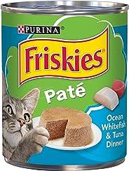 Purina Friskies 368g Pate Ocean Whitefish & Tuna Wet Cat Food