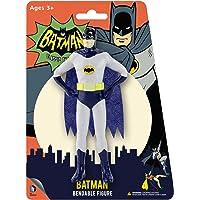 NJ Croce Batman Classic TV Series Batman Bendable Figure, Light Gray