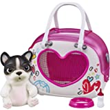 Little Live- Mascota interactiva con un bolso/porta perritos, para niños y niñas a partir de 5 años, (Famosa 700015503) , col