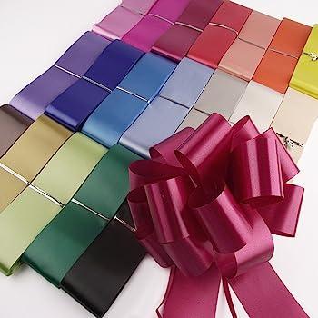 40 colours to choose 10m FLORIST RIBBON wedding cars,bows,presents,christmas