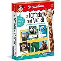 Clementoni - 12690 - Sapientino - La Tombola degli animali - gioco tombola con tessere illustrate - gioco educativo 5…