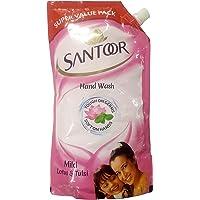 Santoor Hand Wash - Mild, 750ml Pouch