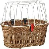 KLICKfix Unisex – Doggy Basket rugzak, voor volwassenen, bruin, 1 maat