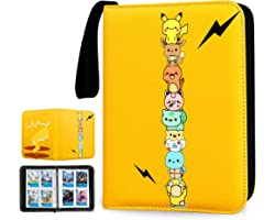 CIUJOY Pokemon Cards Binder, Folder of Trading Card 400 Bags Detachable Sleeve Collection Albums, Used to Protect Card Pokemo