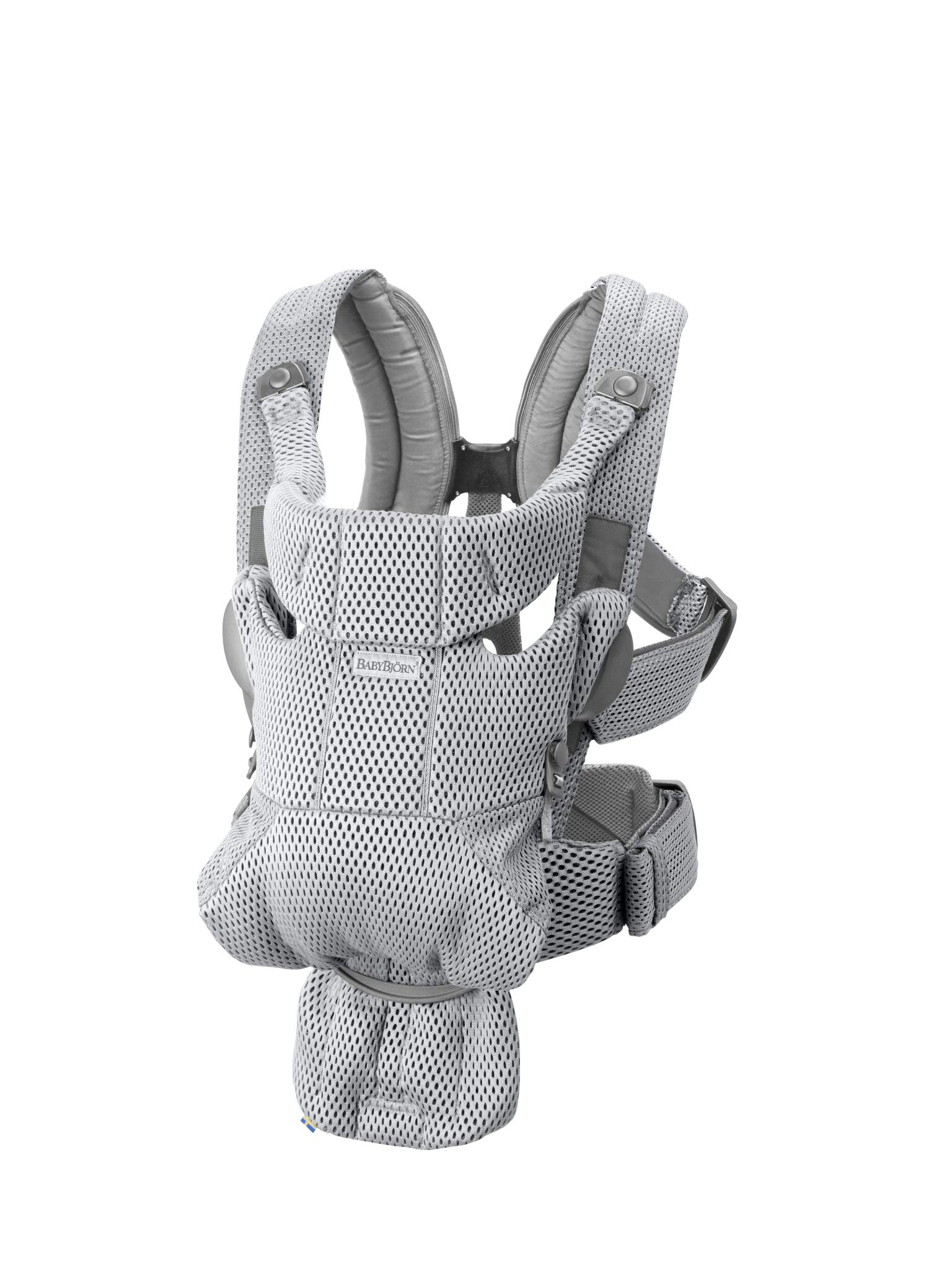 BABYBJÖRN Baby Carrier Move, 3D Mesh, Grey Baby Bjorn Excellent comfort with built-in back support and waist belt Easy to put on and take off Soft and airy design in cool 3D mesh 1