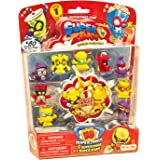 SuperZings- Rivals of Kaboom Blíster con 10 figuras, Color surtido (Magic Box Int Toys SZ1P1300)