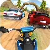 Schmutz-Fahrrad Renn-Rallye - Offroad Motorrad