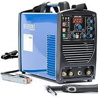 IPOTOOLS ACDCTIG 200P WIG Schweißgerät AC DC Schweissgerät mit 200 Amper Volldigitales Inverterschweißgerät Inkl HF…