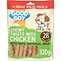 Good Boy Waggles and Co Chewy Twists with Chicken 320g VALUE PACK Single