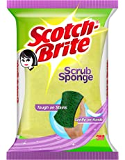 Scotch-Brite Scrub Sponge Small (1 Pc)