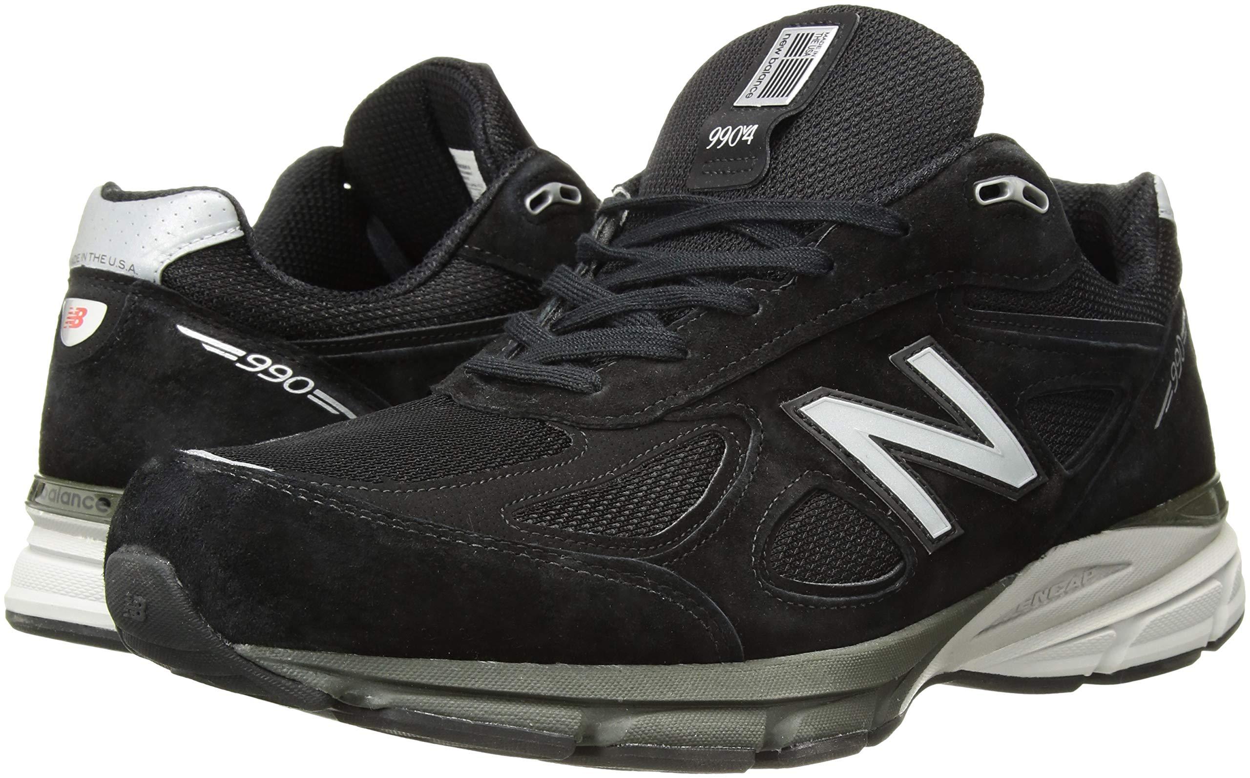 810dzz2g54L - New Balance Mens M990 990v4 Black Size: 7.5 Wide